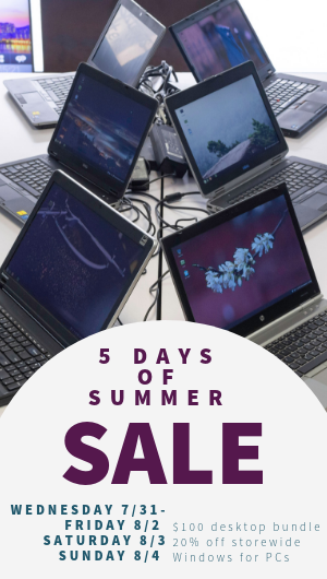 Alternate 5 Days of Summer Sale